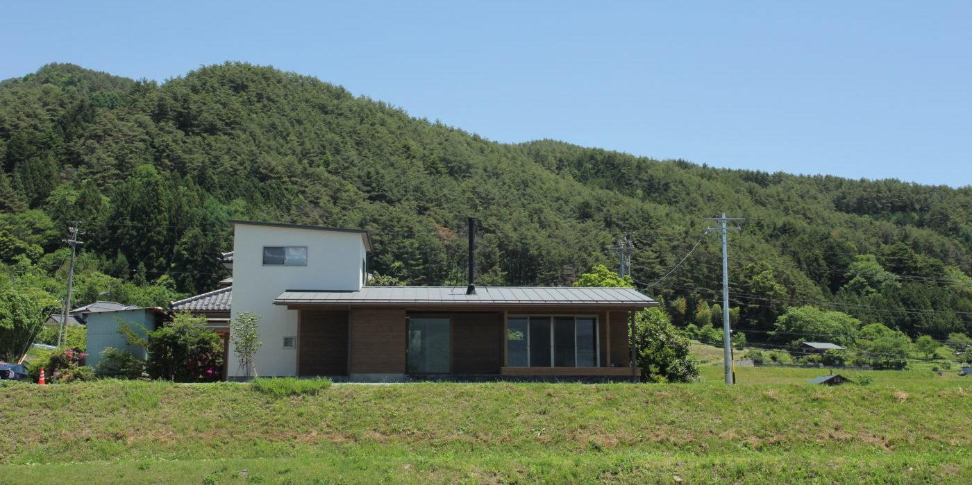 駒ヶ岳を希む家